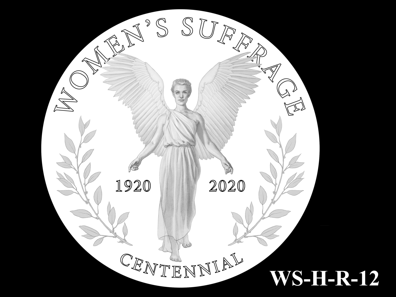 WS-H-R-12 -- Women's Suffrage Centennial Program - Historic Focus  - Reverse