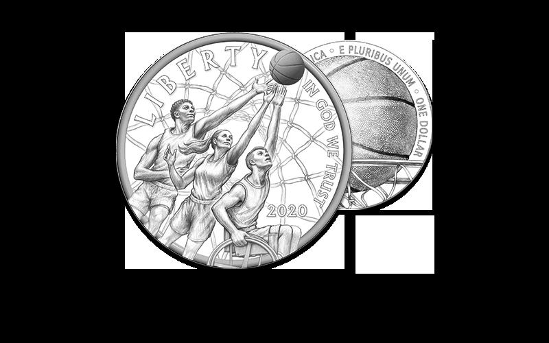 Naismith Basketball Hall of Fame 2020 homepage foreground image line art