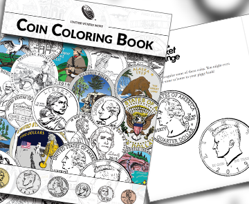 2019 Coin Coloring Book Kids homepage single feature