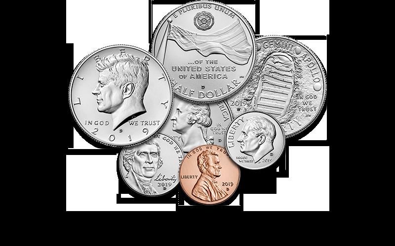 Denver coins foreground homepage slider image