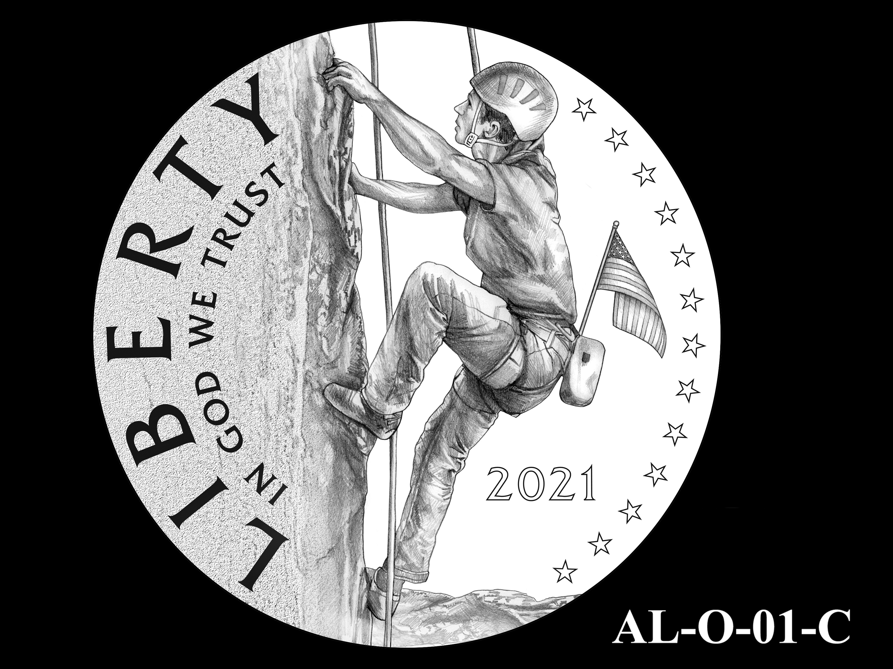 AL-O-01-C -- 2021 American Liberty Gold Coin and Silver Medal Program - Obverse