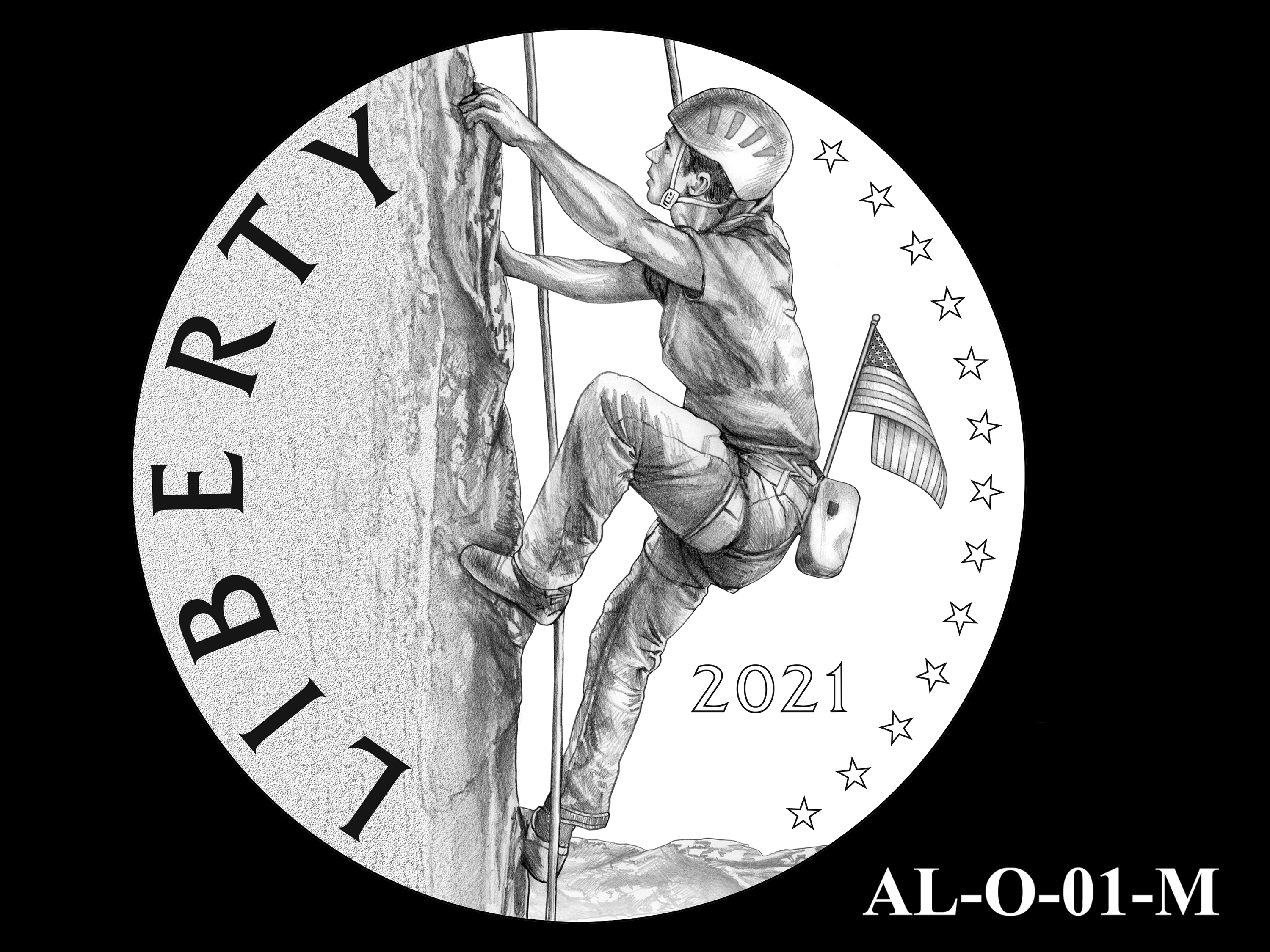 AL-O-01-M -- 2021 American Liberty Gold Coin and Silver Medal Program - Obverse