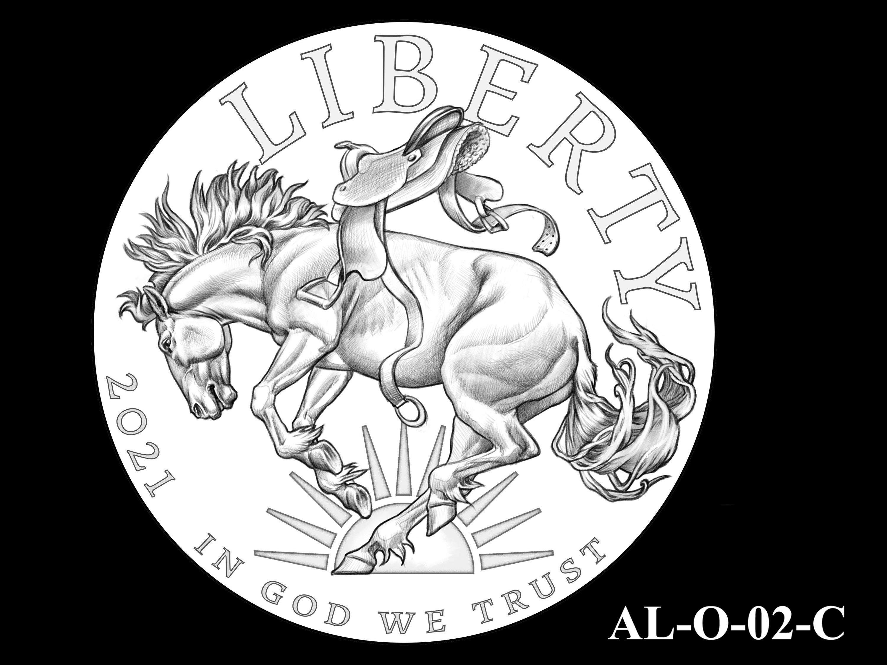 AL-O-02-C -- 2021 American Liberty Gold Coin and Silver Medal Program - Obverse
