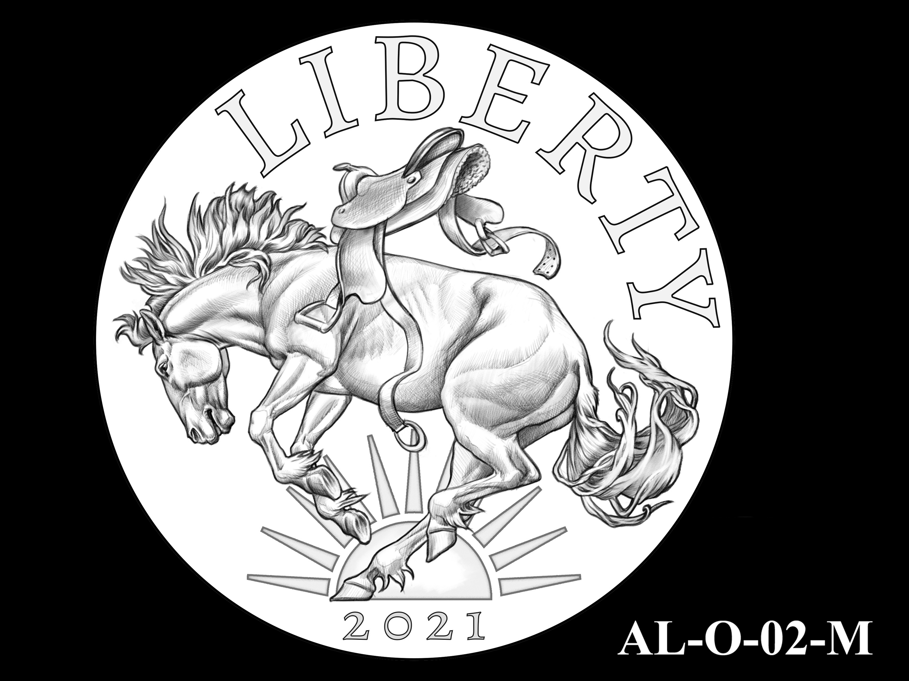 AL-O-02-M -- 2021 American Liberty Gold Coin and Silver Medal Program - Obverse