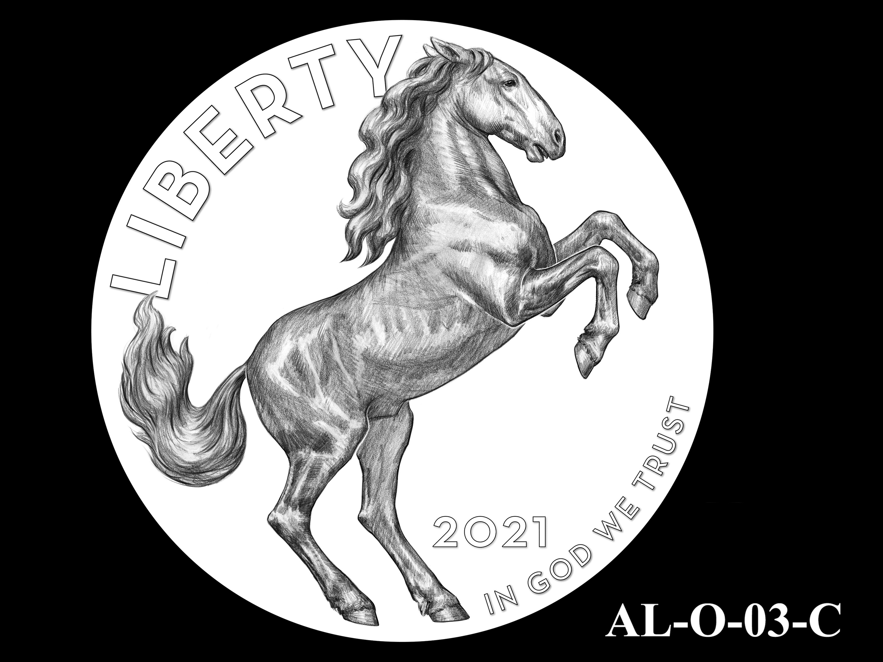 AL-O-03-C -- 2021 American Liberty Gold Coin and Silver Medal Program - Obverse