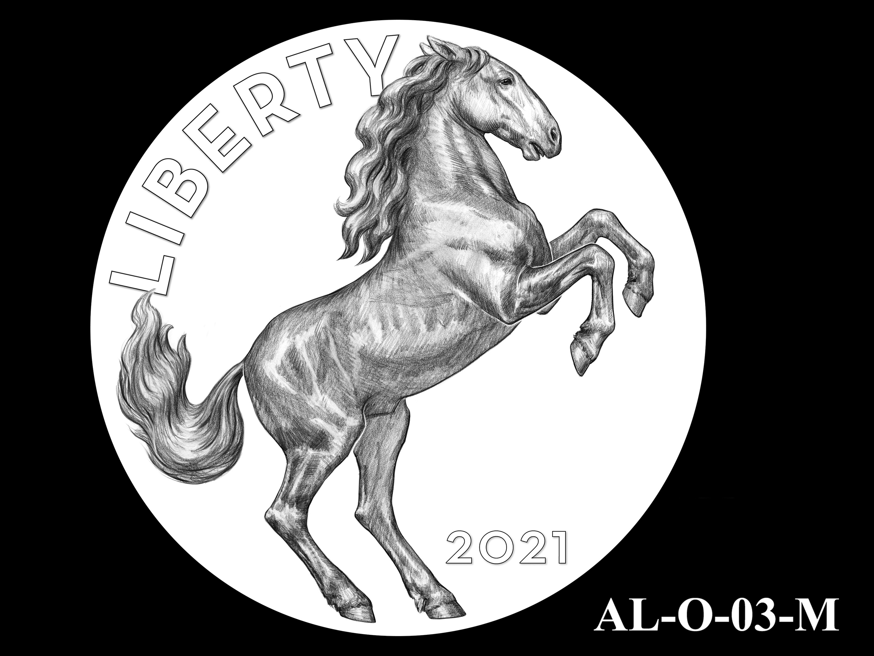 AL-O-03-M -- 2021 American Liberty Gold Coin and Silver Medal Program - Obverse