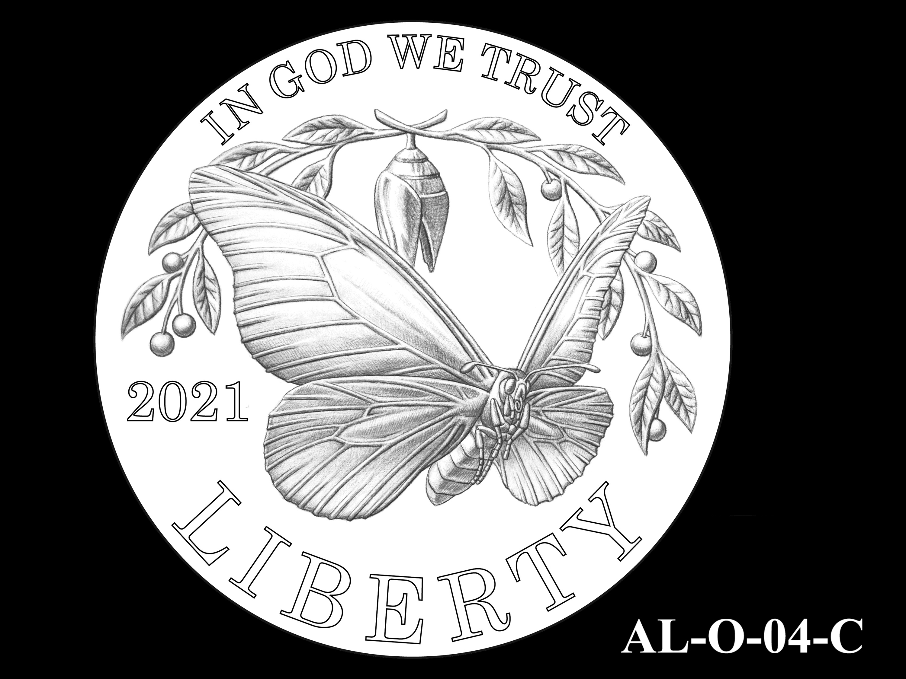 AL-O-04-C -- 2021 American Liberty Gold Coin and Silver Medal Program - Obverse