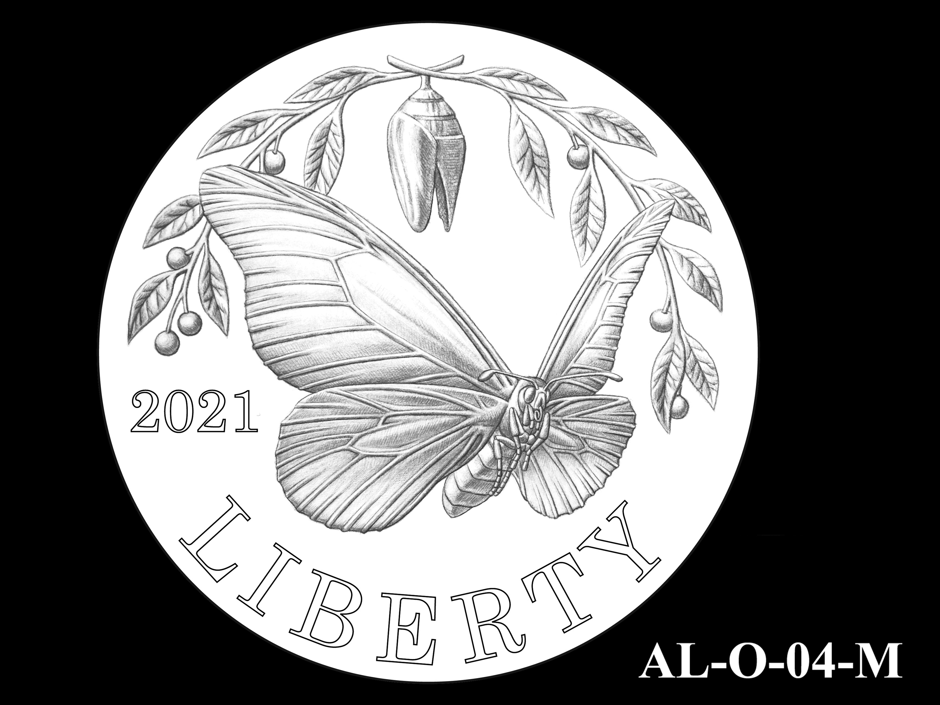 AL-O-04-M -- 2021 American Liberty Gold Coin and Silver Medal Program - Obverse