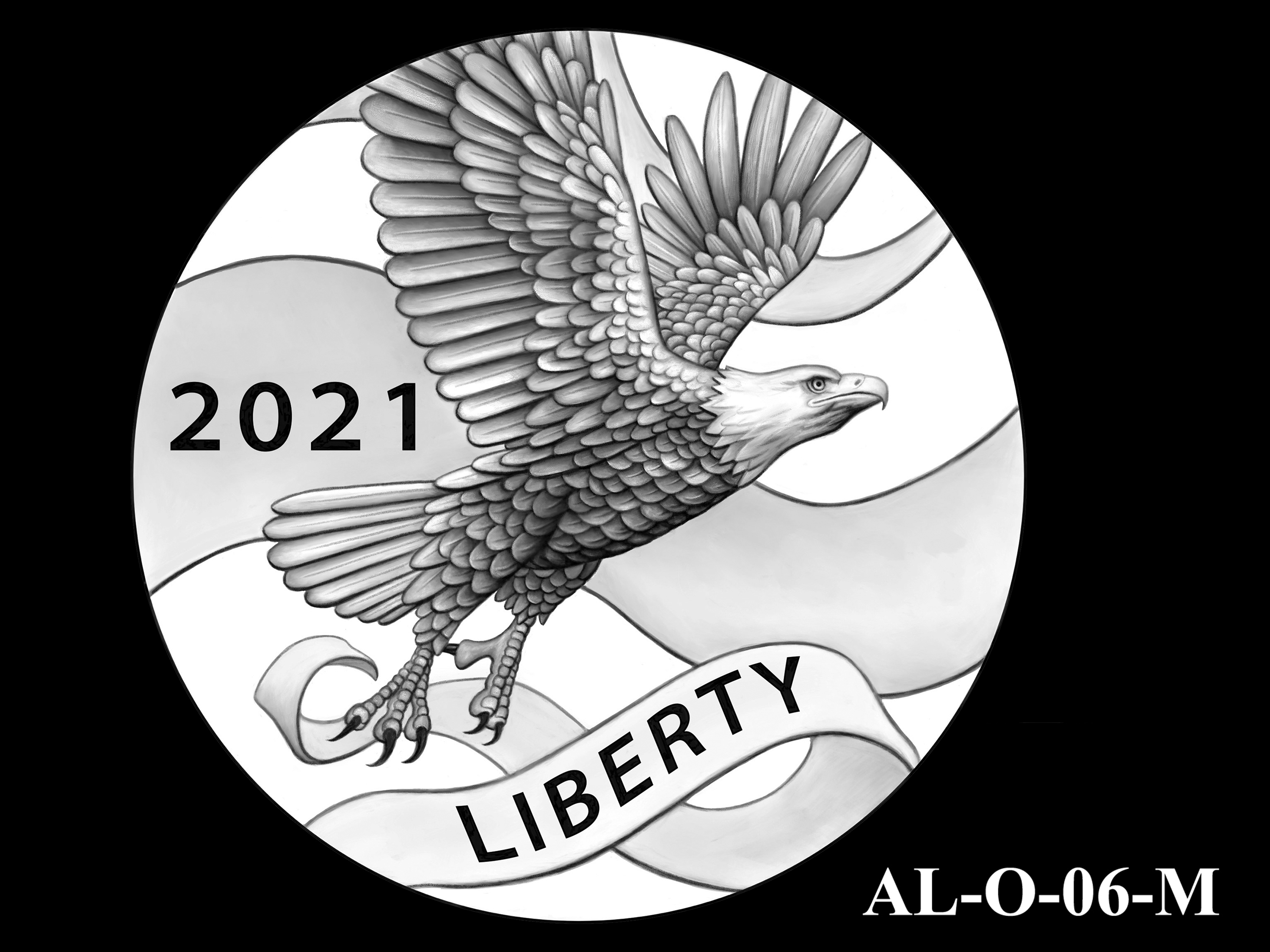 AL-O-06-M -- 2021 American Liberty Gold Coin and Silver Medal Program - Obverse