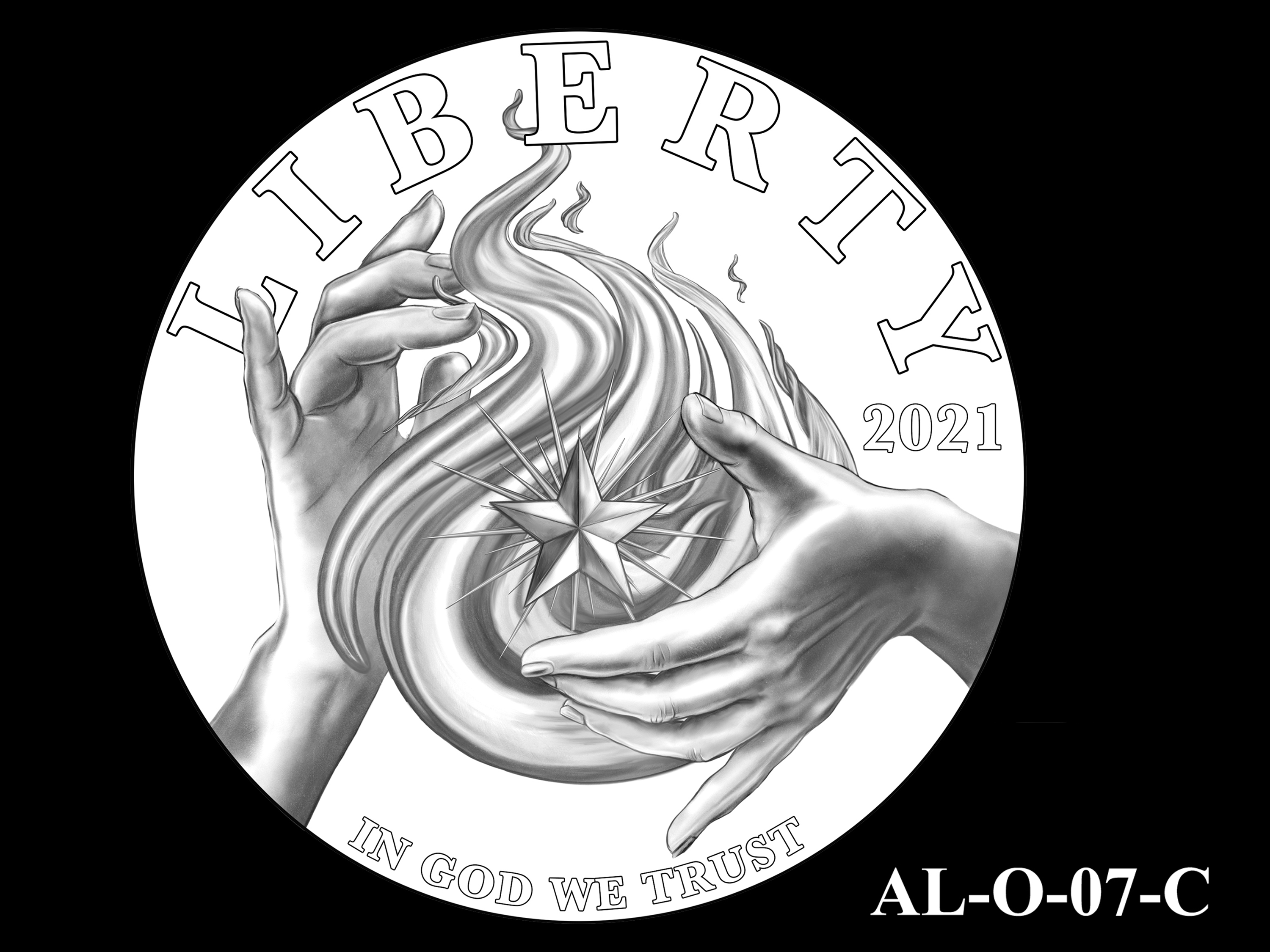 AL-O-07-C -- 2021 American Liberty Gold Coin and Silver Medal Program - Obverse