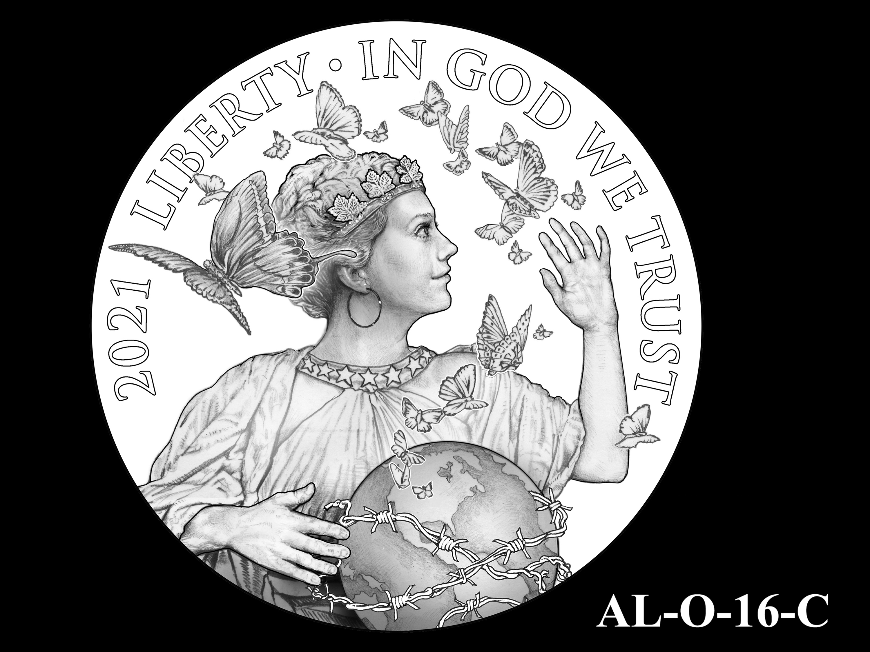 AL-O-16-C -- 2021 American Liberty Gold Coin and Silver Medal Program - Obverse