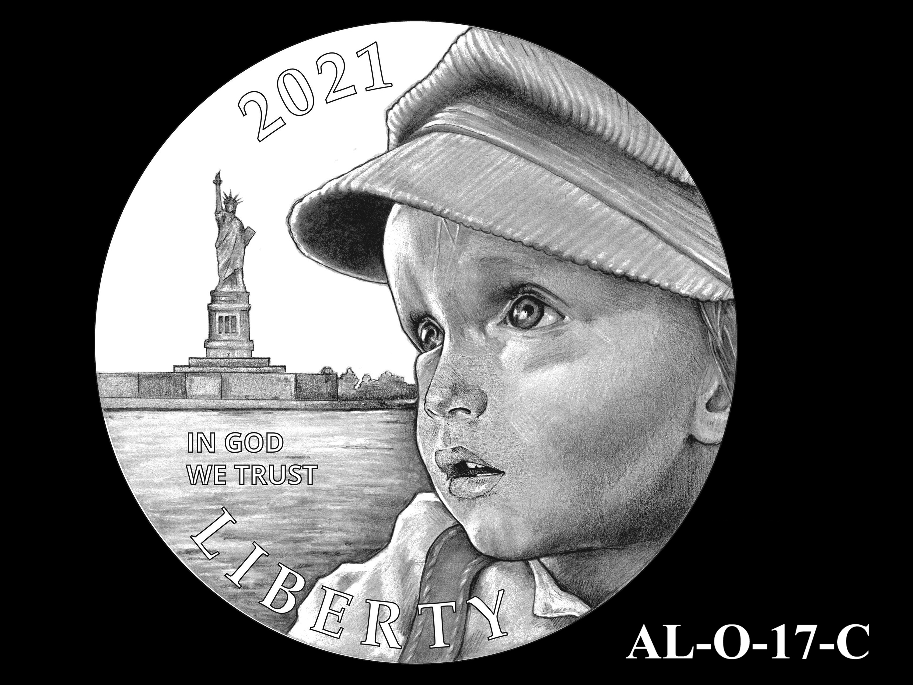 AL-O-17-C -- 2021 American Liberty Gold Coin and Silver Medal Program - Obverse