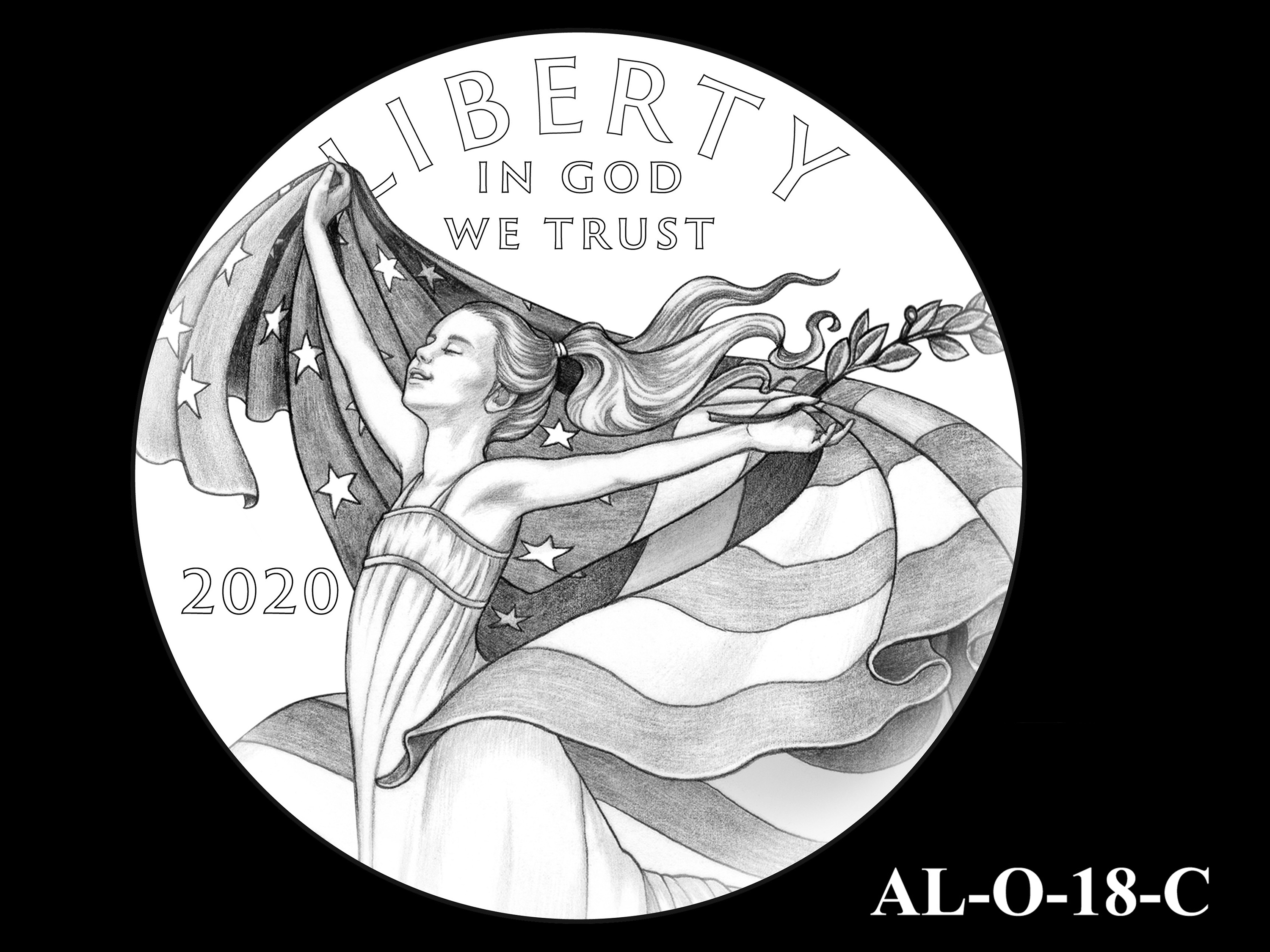 AL-O-18-C -- 2021 American Liberty Gold Coin and Silver Medal Program - Obverse