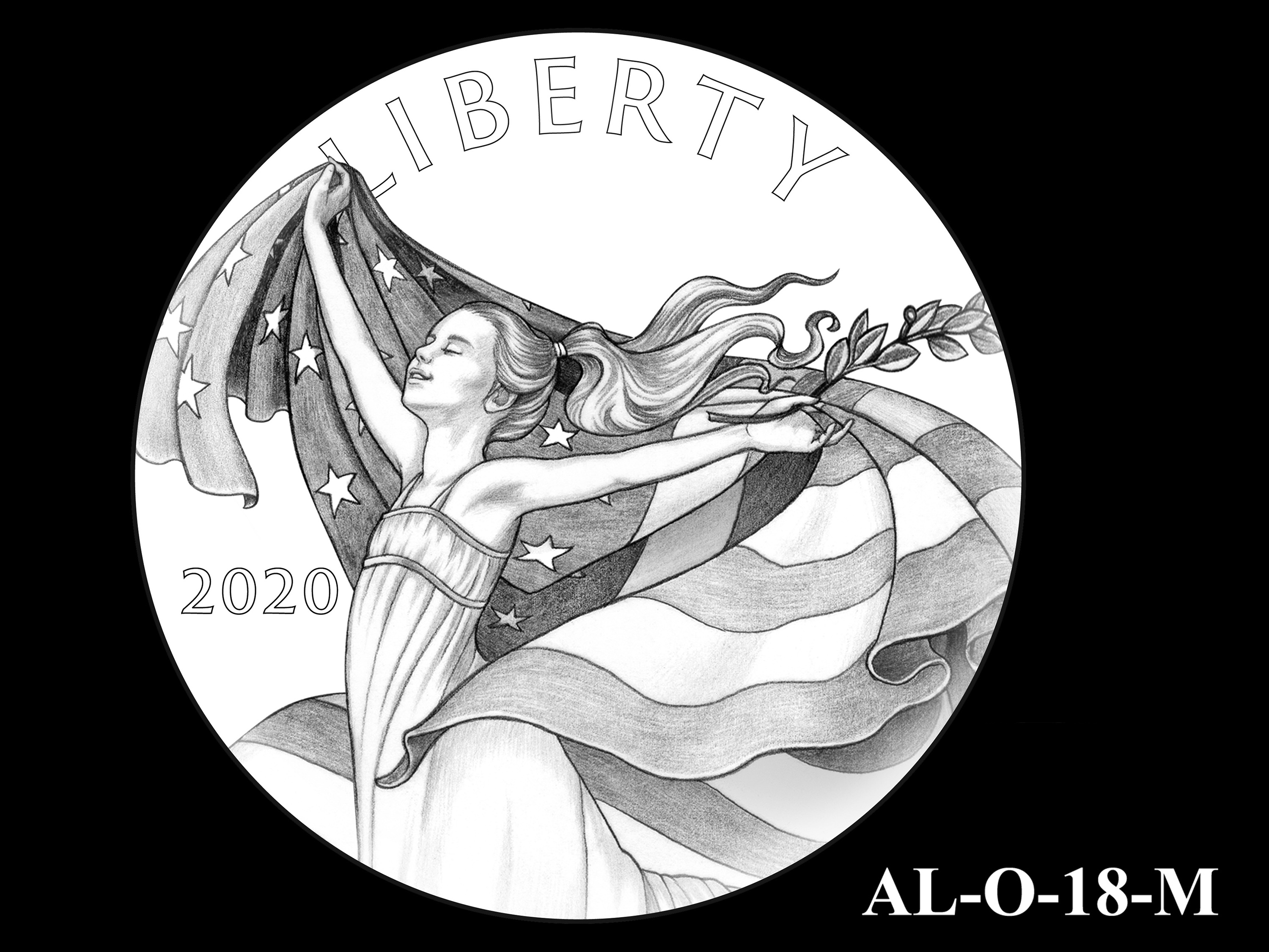 AL-O-18-M -- 2021 American Liberty Gold Coin and Silver Medal Program - Obverse