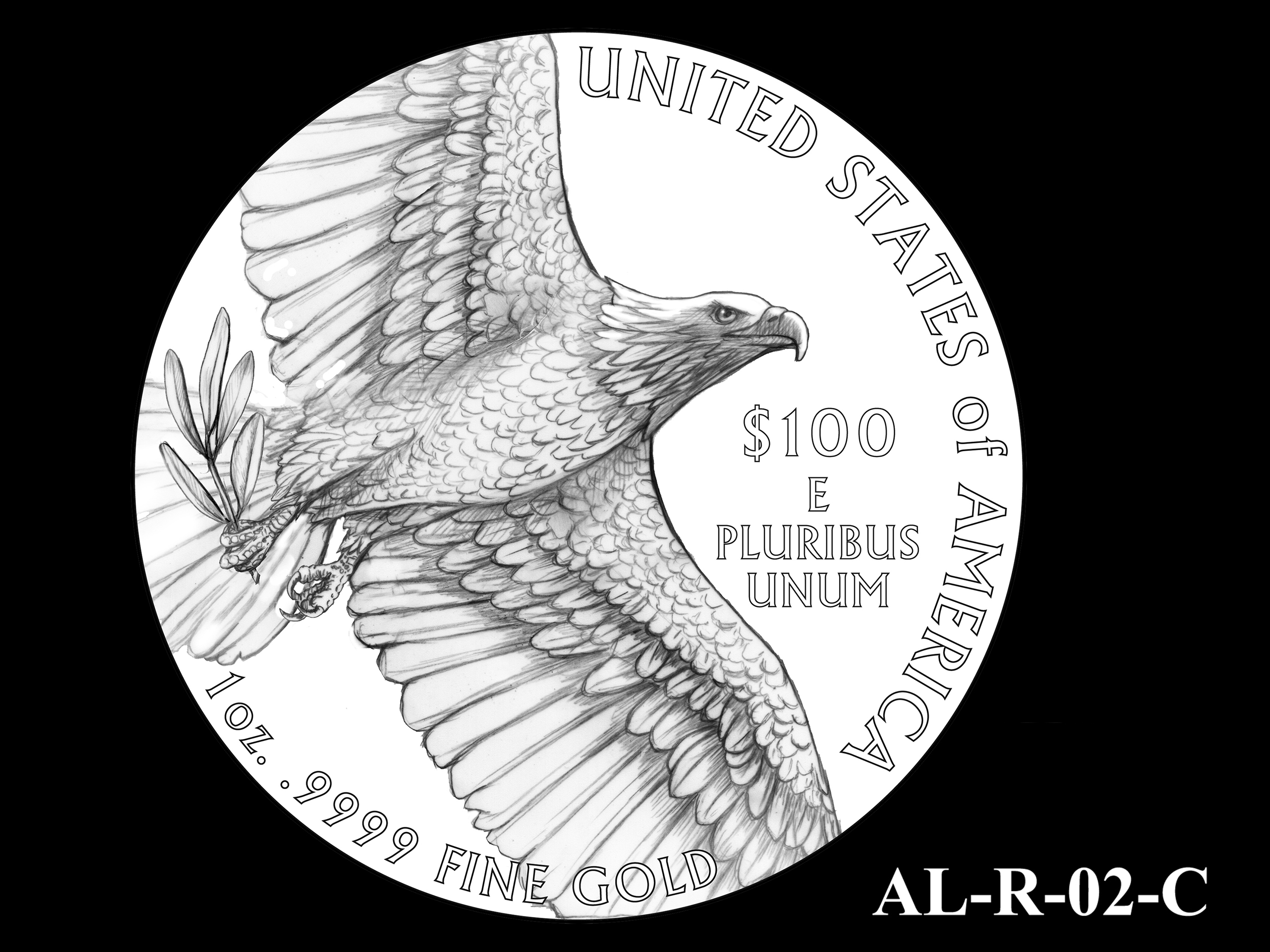AL-R-02-C -- 2021 American Liberty Gold Coin and Silver Medal Program - Reverse