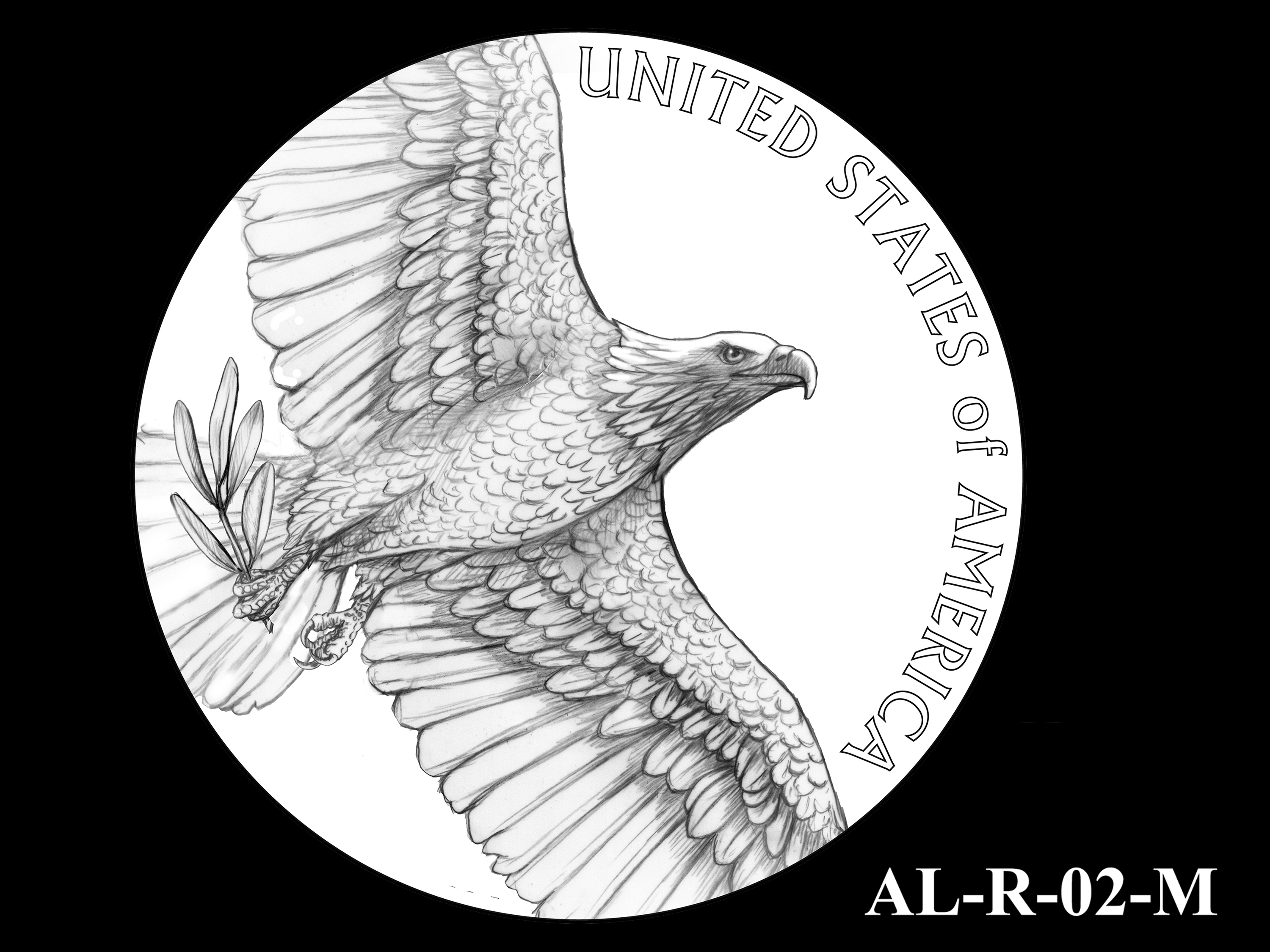 AL-R-02-M -- 2021 American Liberty Gold Coin and Silver Medal Program - Reverse
