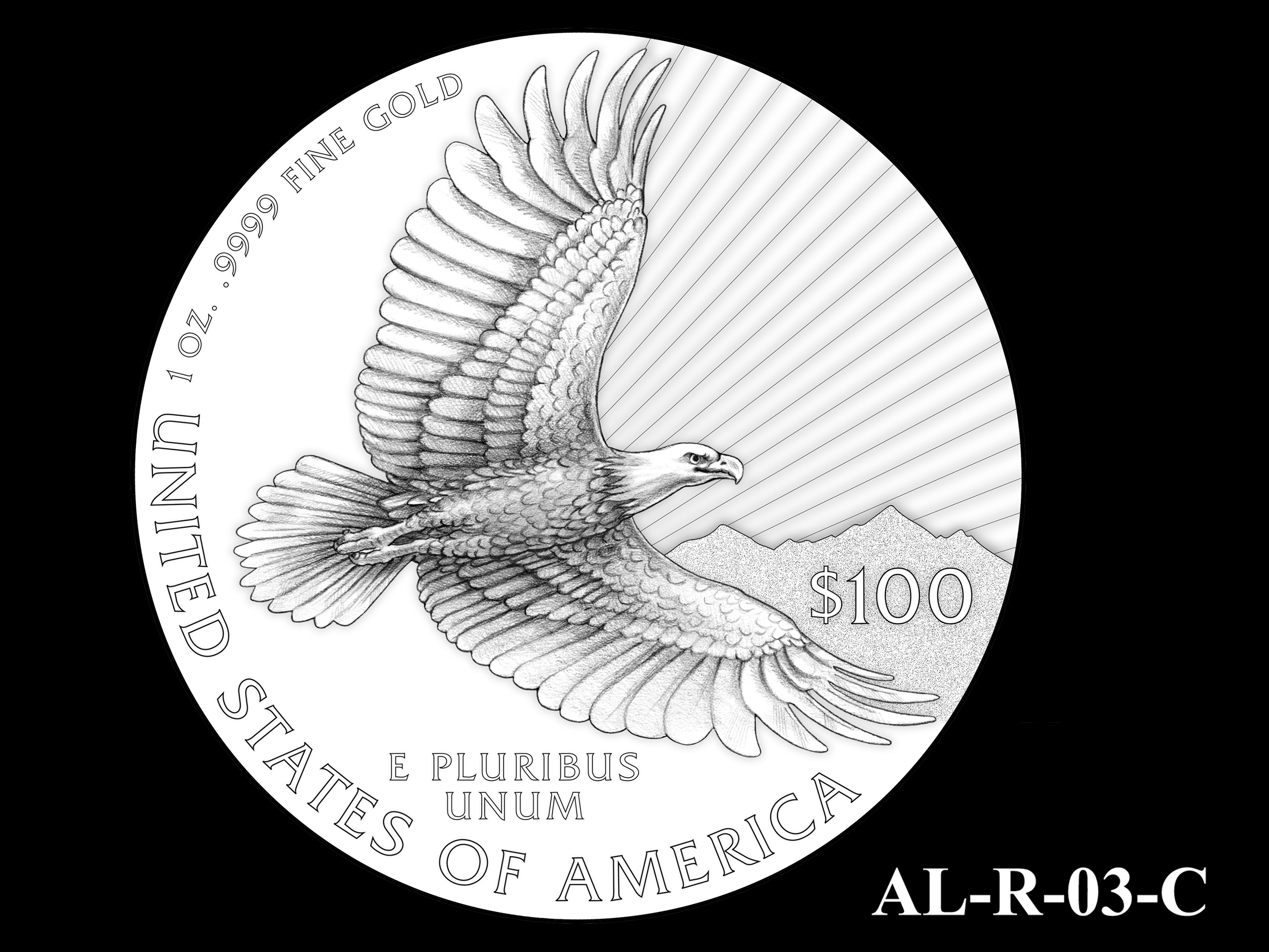 AL-R-03-C -- 2021 American Liberty Gold Coin and Silver Medal Program - Reverse
