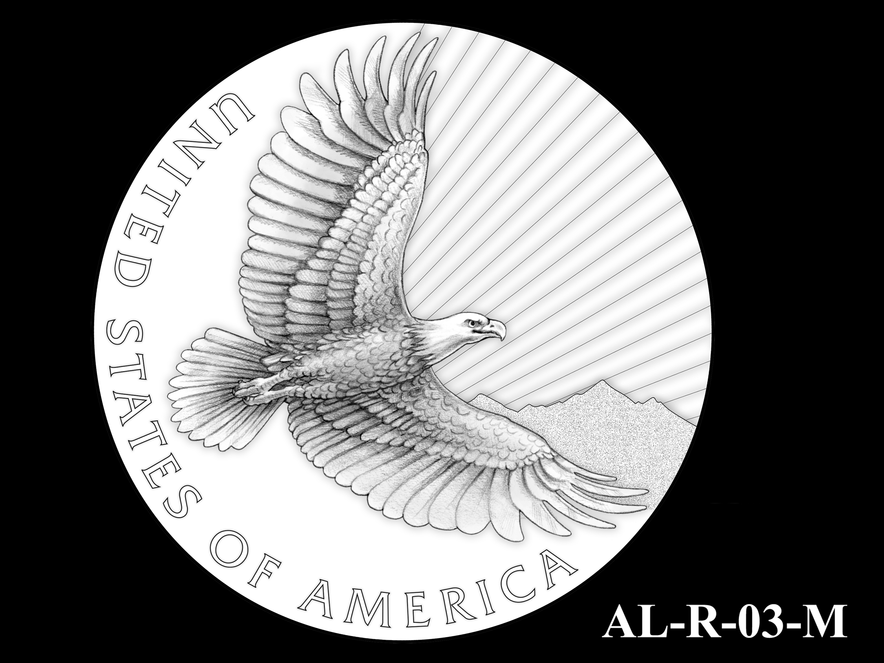 AL-R-03-M -- 2021 American Liberty Gold Coin and Silver Medal Program - Reverse