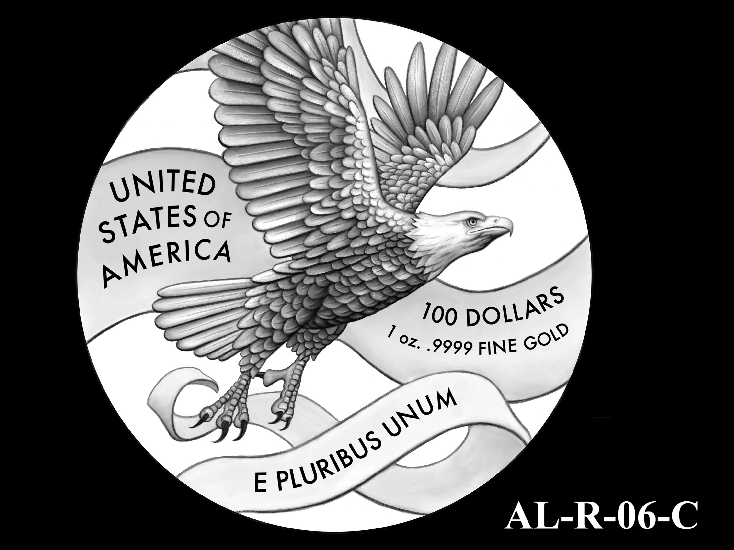 AL-R-06-C -- 2021 American Liberty Gold Coin and Silver Medal Program - Reverse