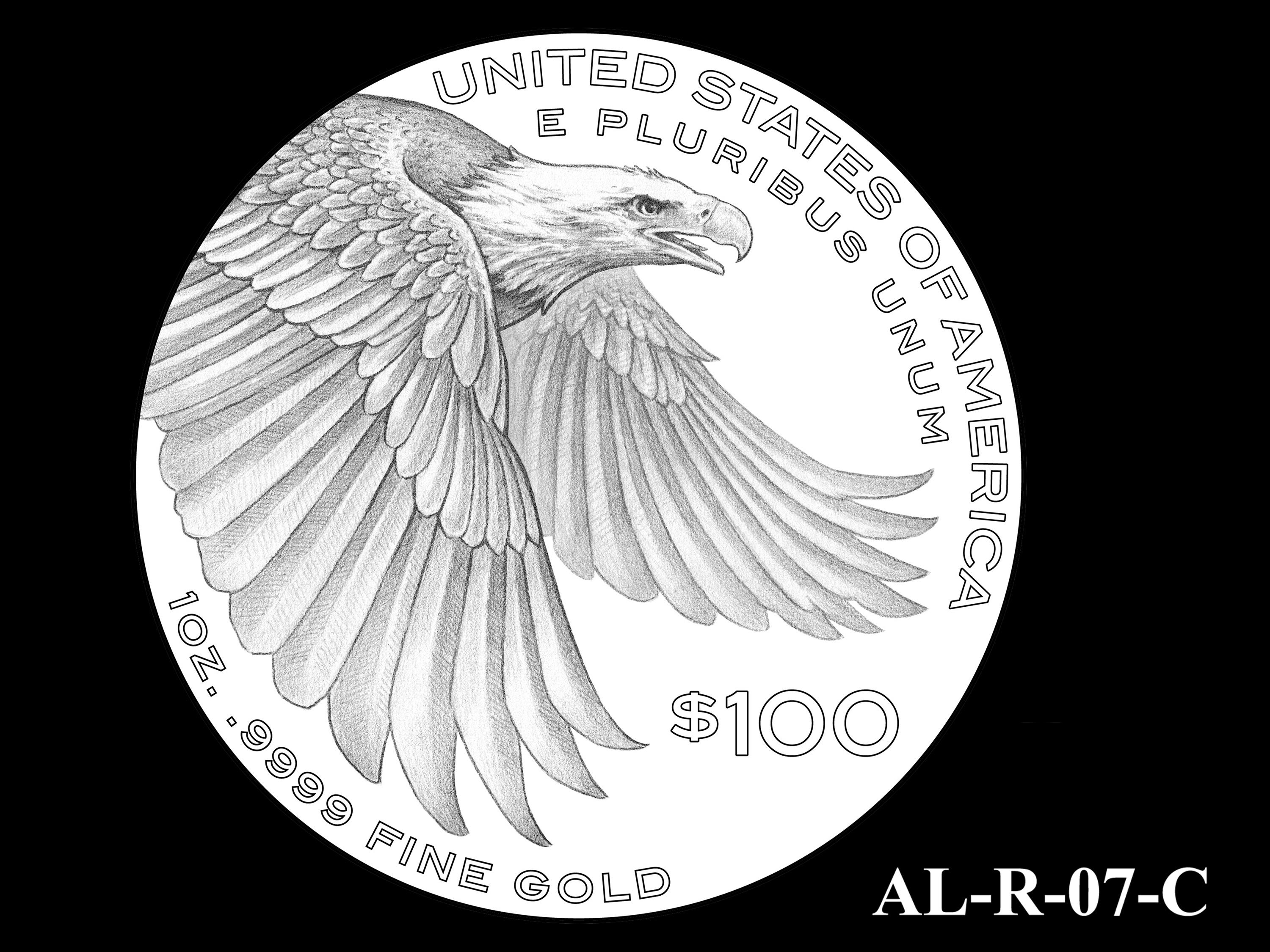 AL-R-07-C -- 2021 American Liberty Gold Coin and Silver Medal Program - Reverse