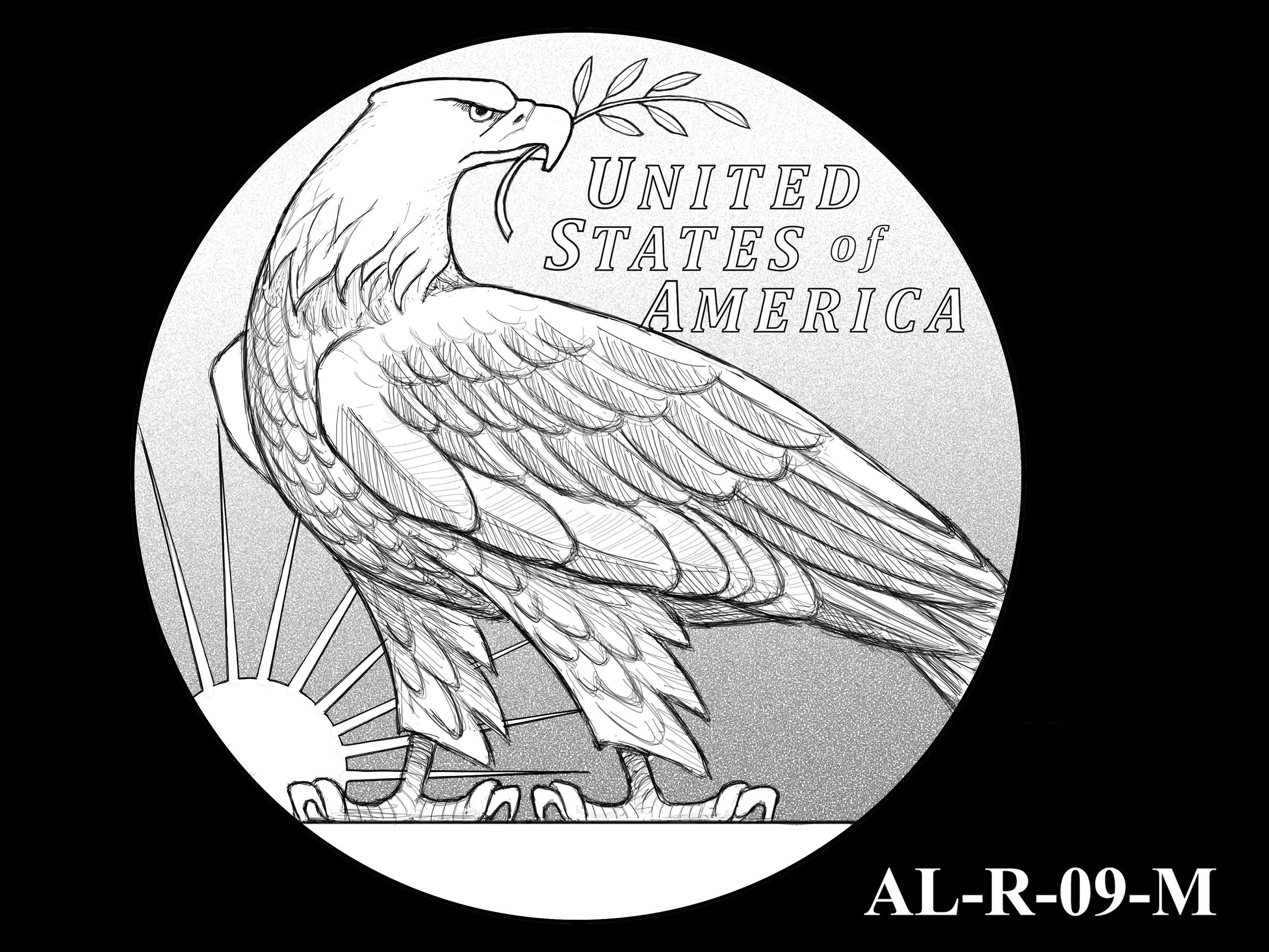 AL-R-09-M -- 2021 American Liberty Gold Coin and Silver Medal Program - Reverse