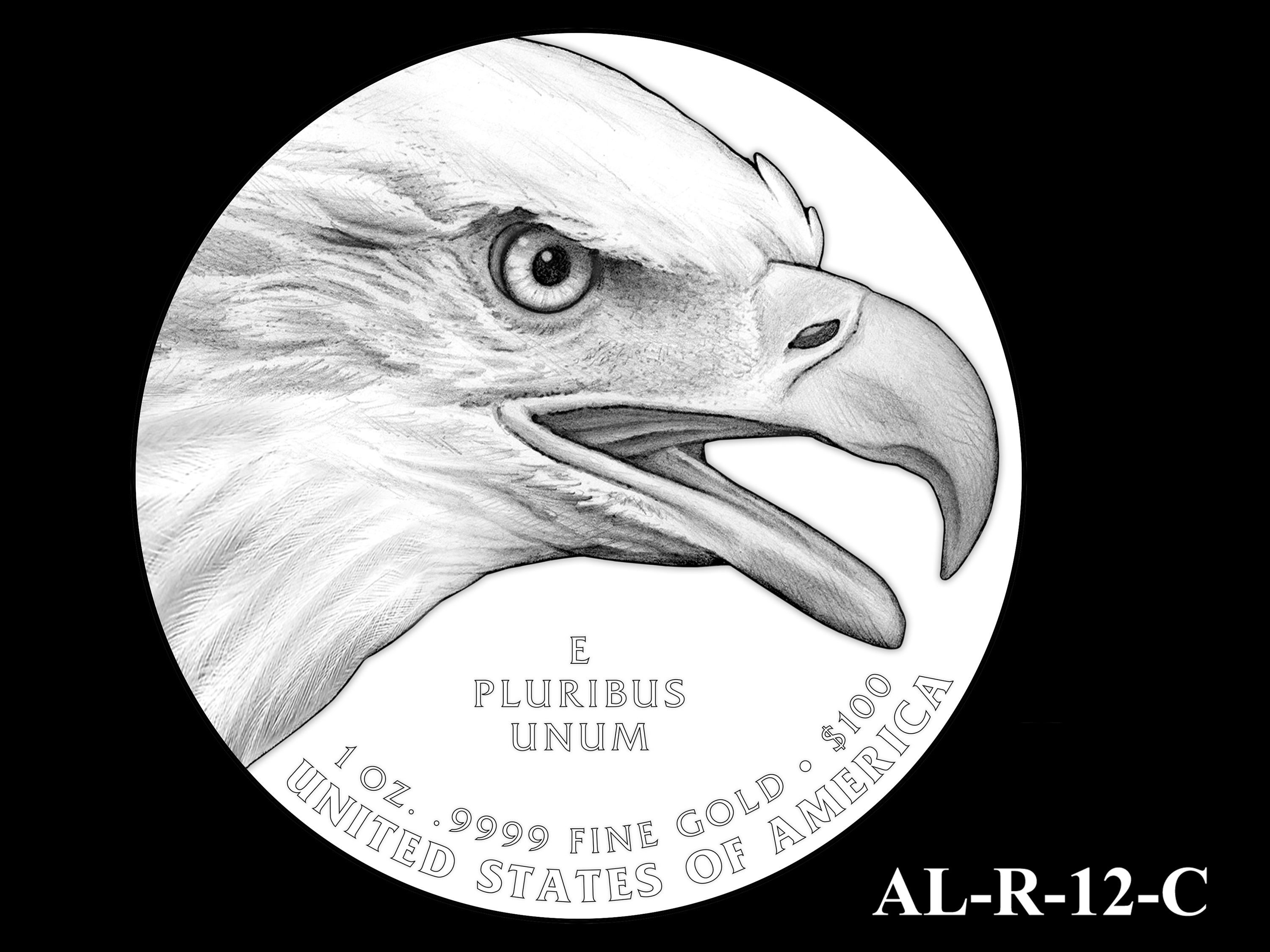 AL-R-12-C -- 2021 American Liberty Gold Coin and Silver Medal Program - Reverse