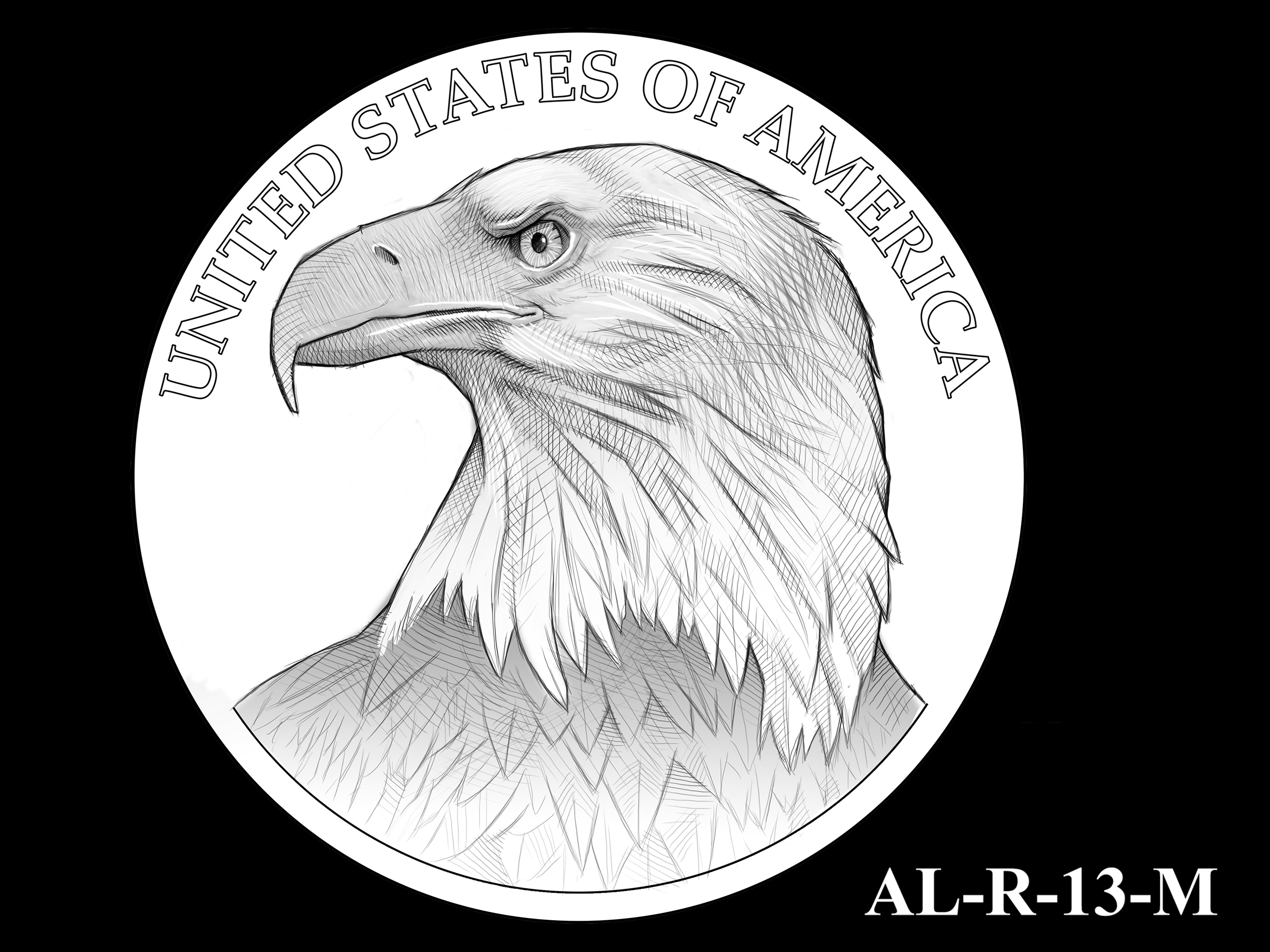 AL-R-13-M -- 2021 American Liberty Gold Coin and Silver Medal Program - Reverse