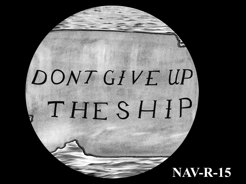 NAV-R-15 -- 2021 United States Navy Silver Medal  - Reverse