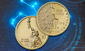 2019 American Innovation Delaware Reverse Proof obverse and reverse