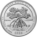 2020 America the Beautiful Quarters Coin Salt River Bay U.S. Virgin Islands Uncirculated Reverse