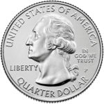2020 America the Beautiful Quarters Coin Uncirculated Obverse Philadelphia