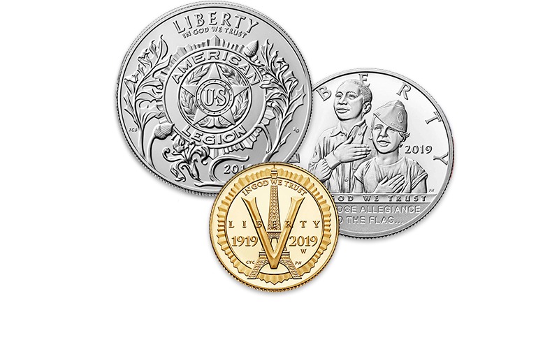 American Legion coins homepage image