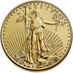 2020 American Eagle Gold One Half Ounce Bullion Coin Obverse