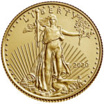 2020 American Eagle Gold One Tenth Ounce Bullion Coin Obverse