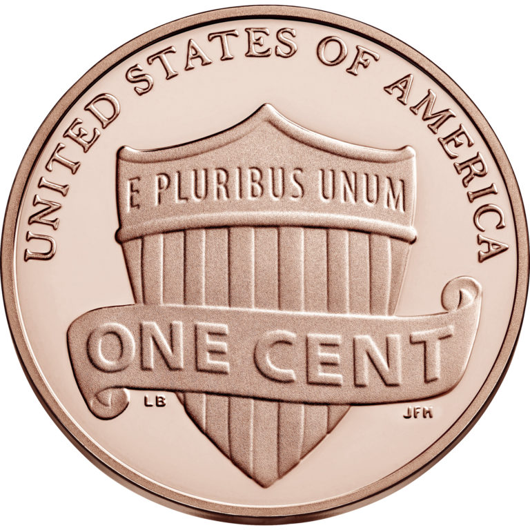 2020 Lincoln Penny Proof Reverse