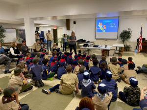 Scout event presentation
