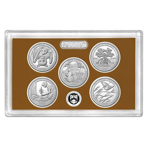 2020 America the Beautiful Quarters Proof Set