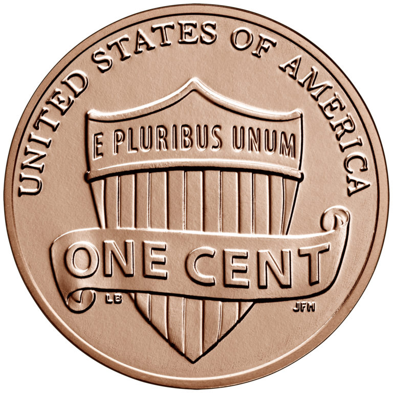 2020 Lincoln Penny Uncirculated Reverse