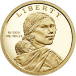 2020 Native American One Dollar Proof Coin Obverse