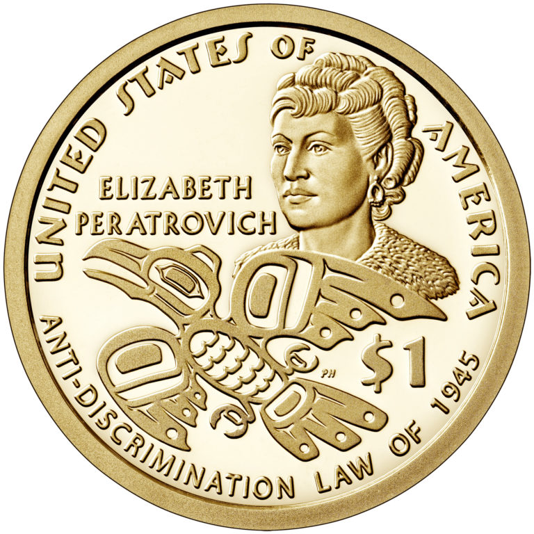 2020 Native American One Dollar Proof Coin Reverse