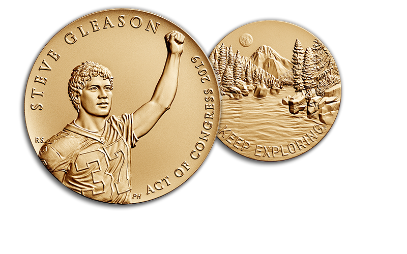 Steve Gleason Congressional Gold Medal homepage hero foreground