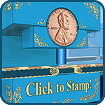 coin stamper game icon