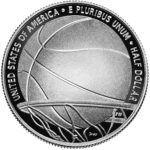 2020 Basketball Hall of Fame Commemorative Clad Half Dollar Proof Reverse