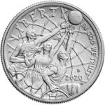 2020 Basketball Hall of Fame Commemorative Clad Half Dollar Uncirculated Obverse