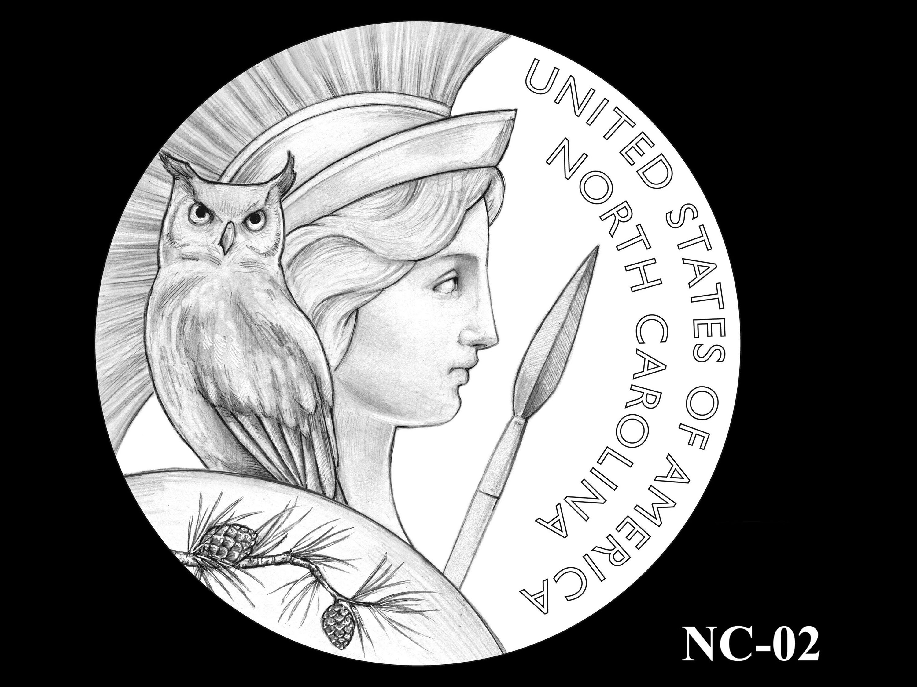NC-02 -- 2021 American Innovation $1 Coin - North Carolina
