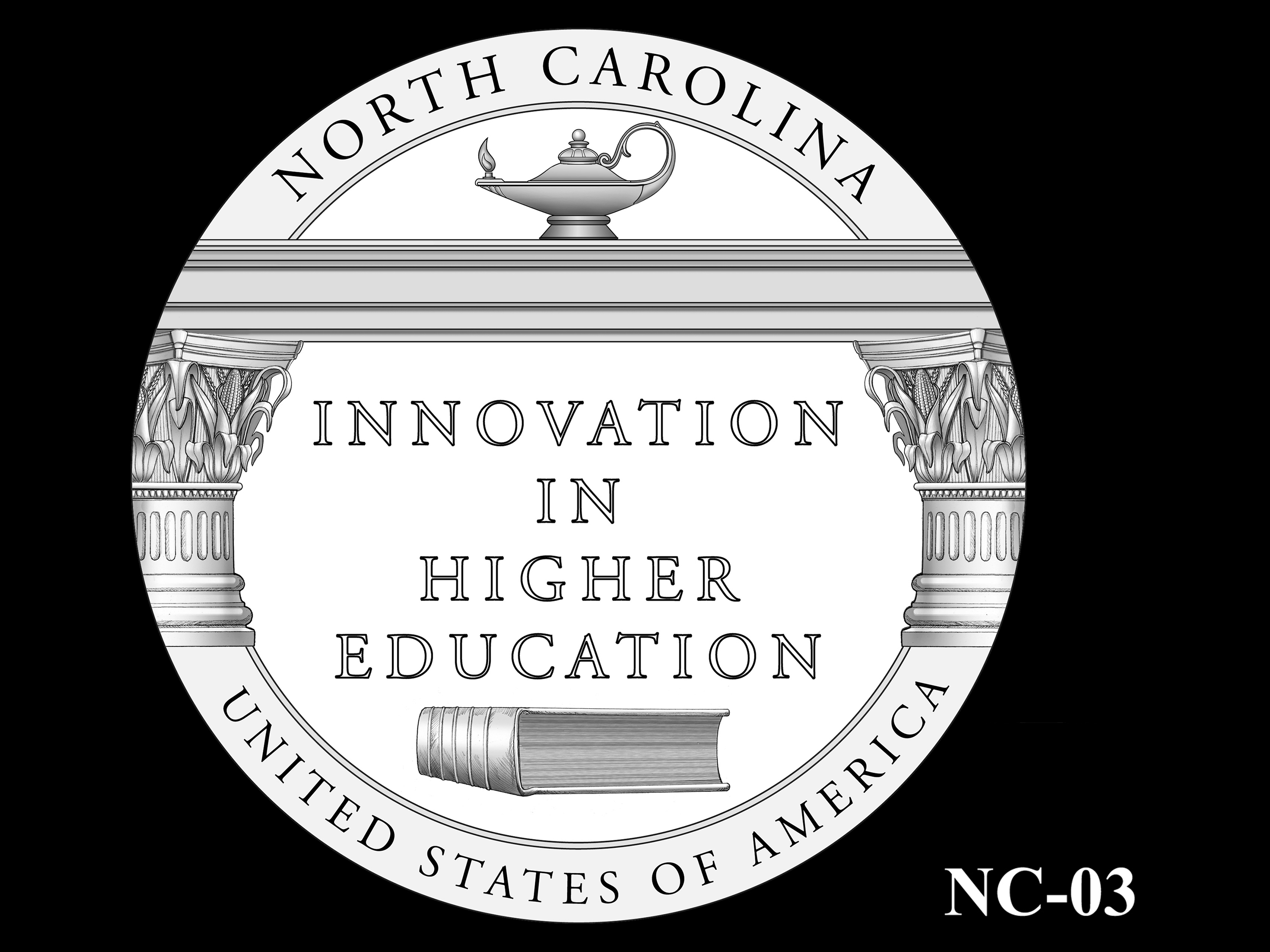 NC-03 -- 2021 American Innovation $1 Coin - North Carolina