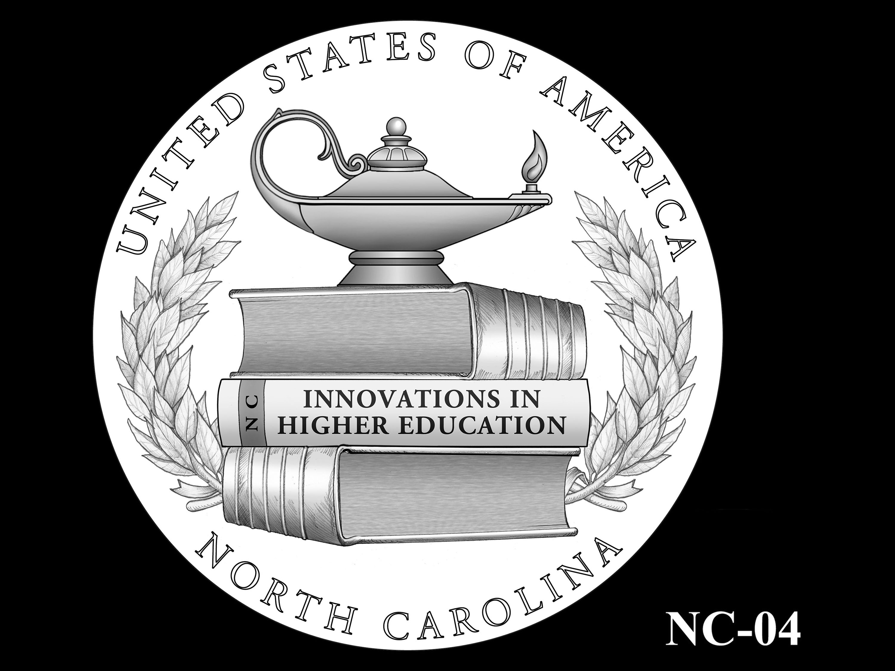 NC-04 -- 2021 American Innovation $1 Coin - North Carolina