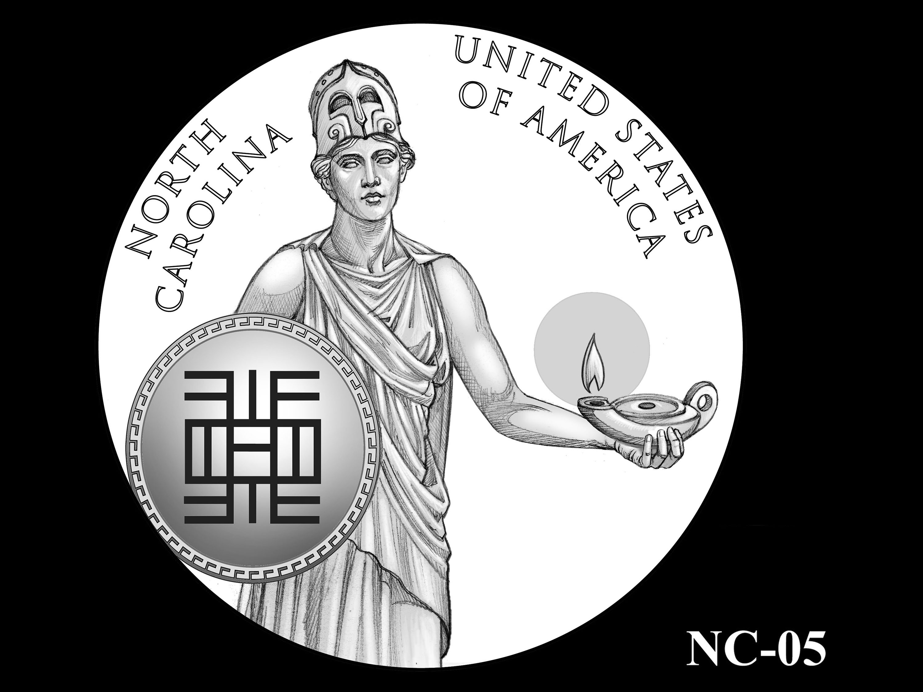 NC-05 -- 2021 American Innovation $1 Coin - North Carolina