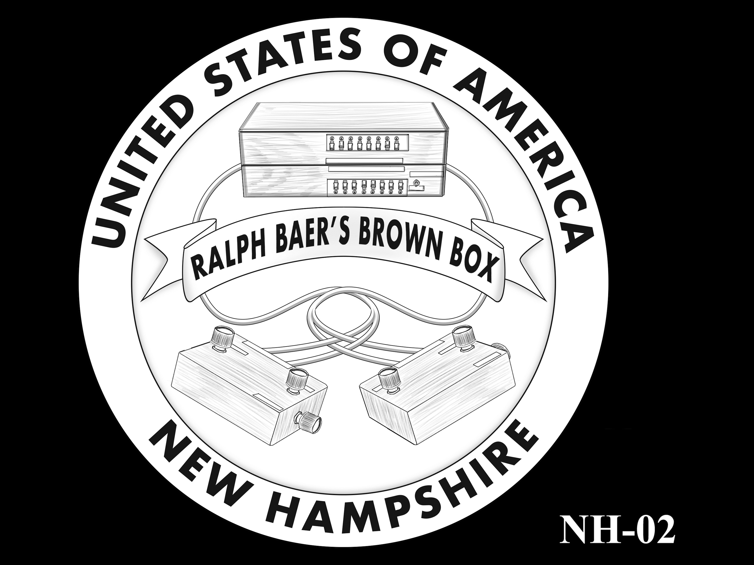 NH-02 -- 2021 American Innovation $1 Coin - New Hampshire