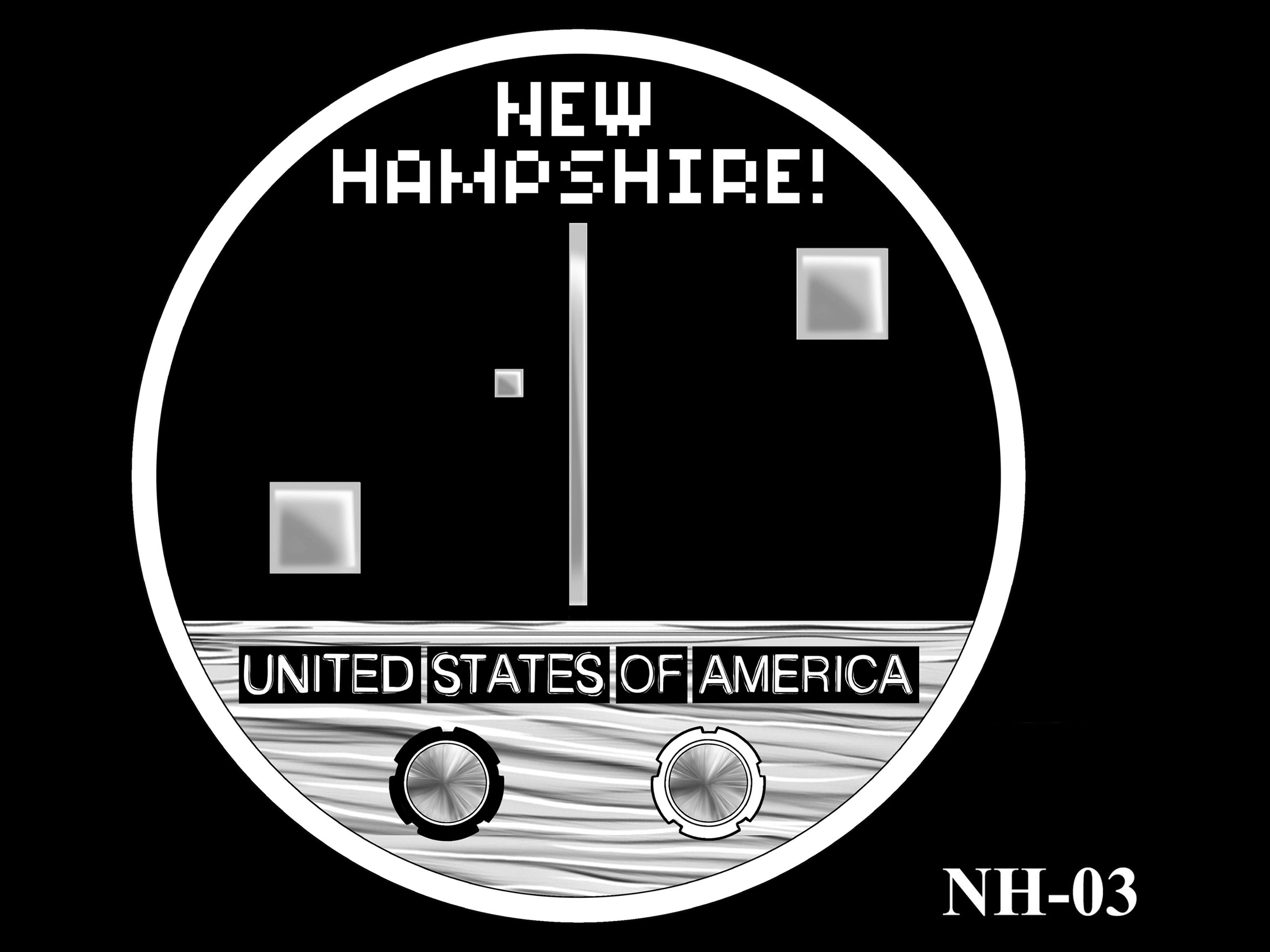 NH-03 -- 2021 American Innovation $1 Coin - New Hampshire